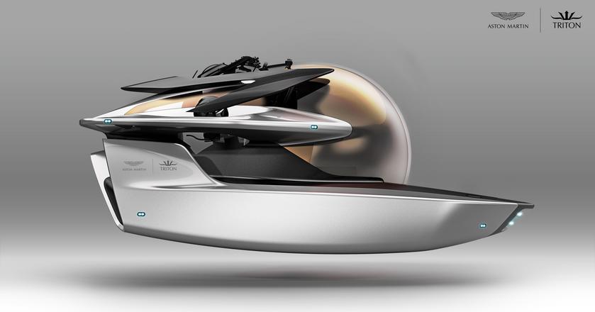 Statek zanurzalny zaprojektowany przez firmę Aston Martin to na razie koncept