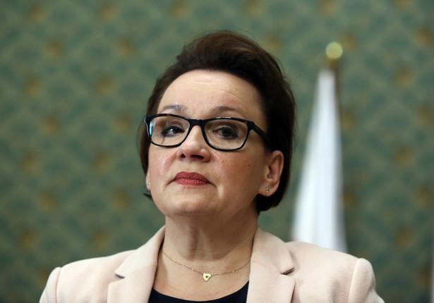 Minister edukacji narodowej Anna Zalewska, PAP/Tomasz Gzell