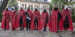 Nietypowy protest w Warszawie! Czego domagały się podręczne?