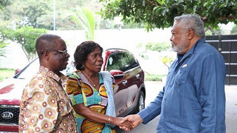 Rawlings gives former NDC MP brand new vehicle