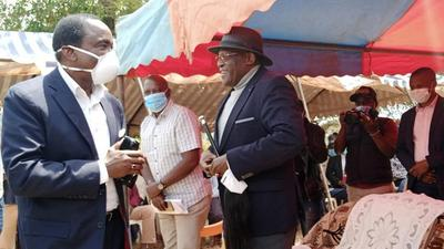 You took me to Raila Odinga, twice -  secrets let out as Kalonzo and Muthama tackle each other in public