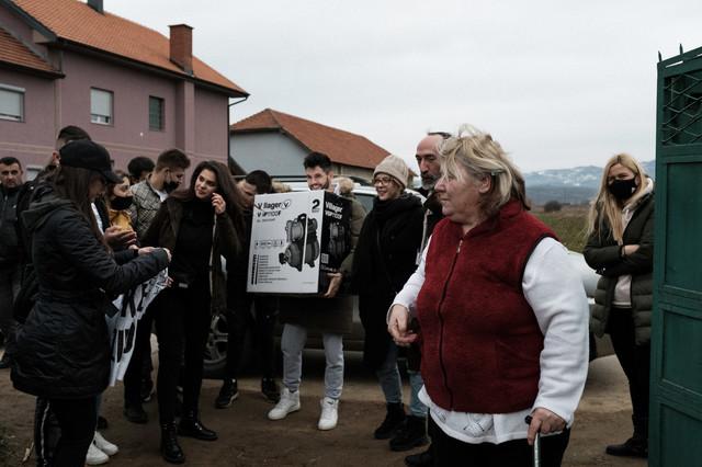Humanitarna pomoć za jug Srbije Foto: Vuk Papić