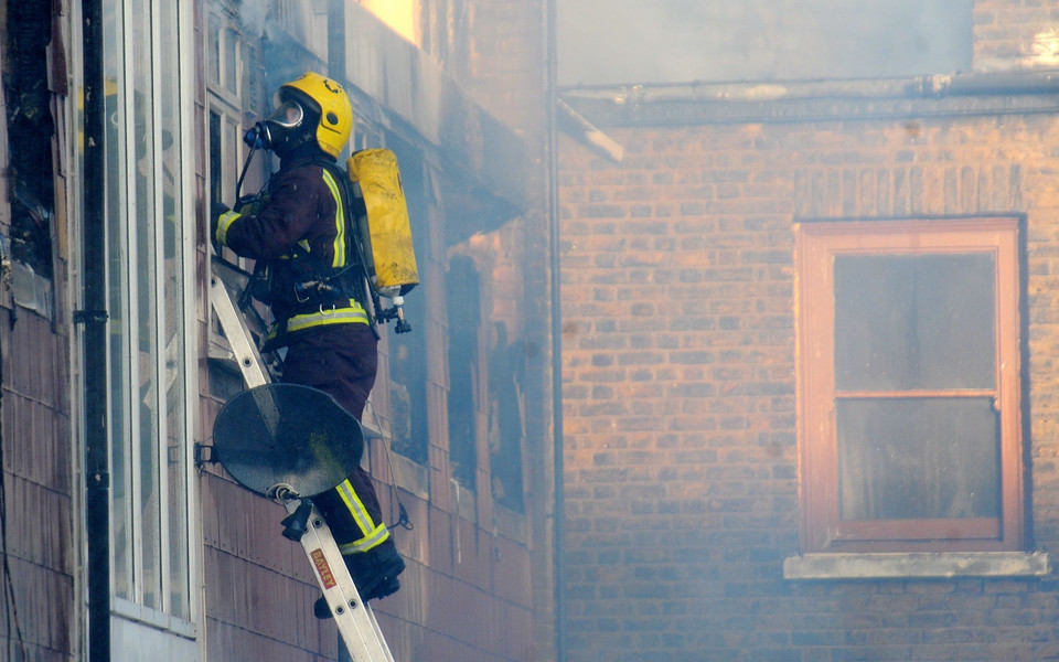 BRITAIN PECKHAM FIRE
