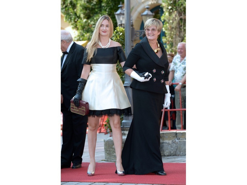 Księżna Gloria i księzniczka Elisabeth