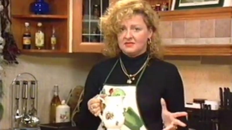Magda Gessler w 1996 roku (screen)