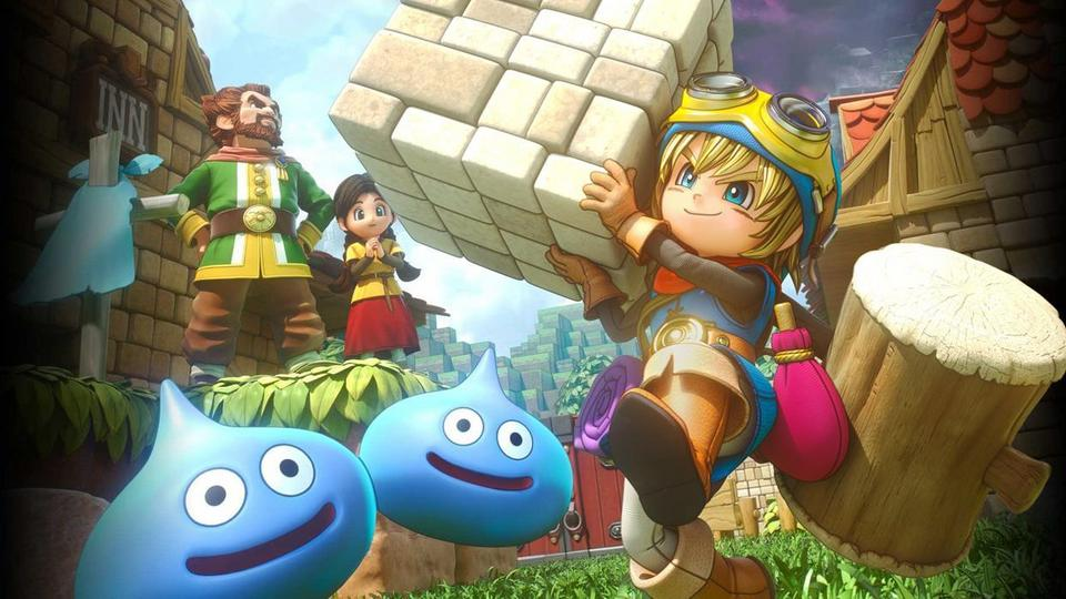 6. Dragon Quest Builders