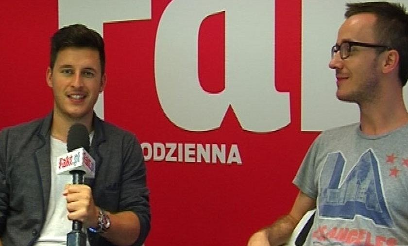 Tomasz Włodarczyk i Przemysław Rudzki przed meczem rewanżowym ze Steauą Bukareszt