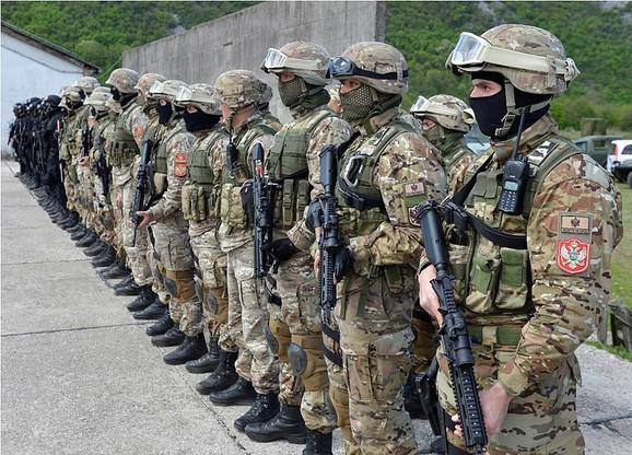 Crnogorska vojska ići će na ratna žarišta