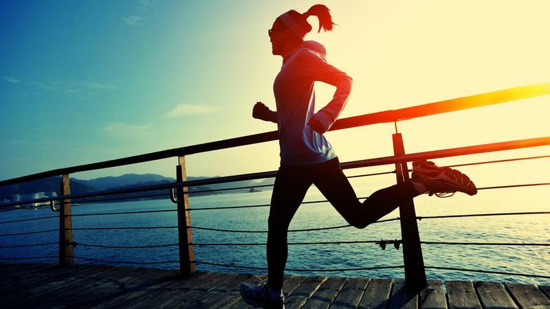 fit, bieganie, jogging, zdrowy styl życia, trening