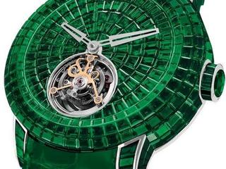 The Jacob & Co. Caviar Emerald Tourbillon