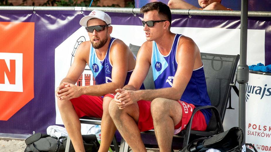 Grzegorz Fijałek, Michał Bryl mają kwalifikację w siatkówce plażowej
