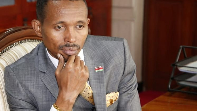 Nyali Mp Mohamed Ali in Mourning