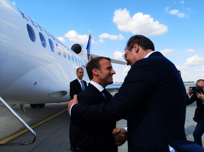 Susret Vučića i Makrona