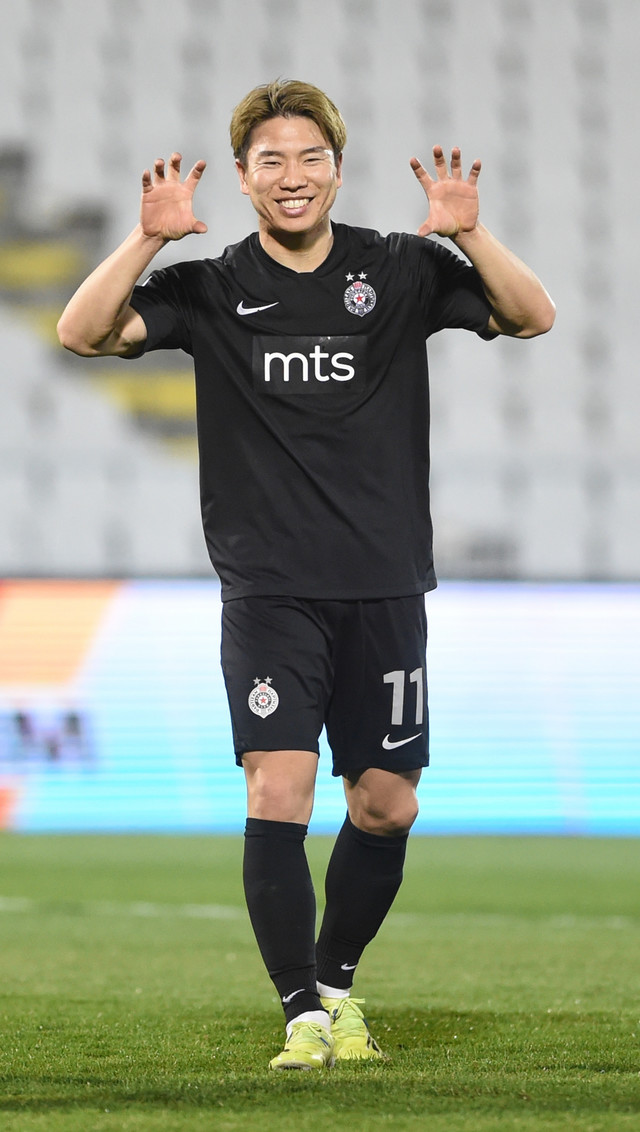 Detalj sa meča FK Partizan - Radnički Niš