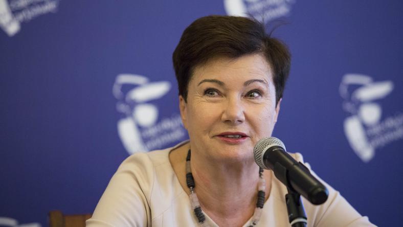 Hanna Gronkiewicz-Waltz, prezydent Warszawy