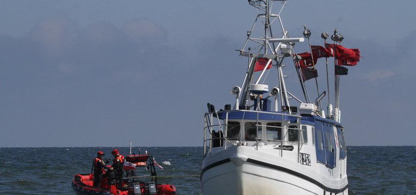 Kuter-widmo dryfował po Bałtyku. Co się stało z załogą?
