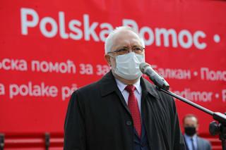 Belgrad odwołał ambasadora w Warszawie, który podpisał list wsparcia osób LGBT