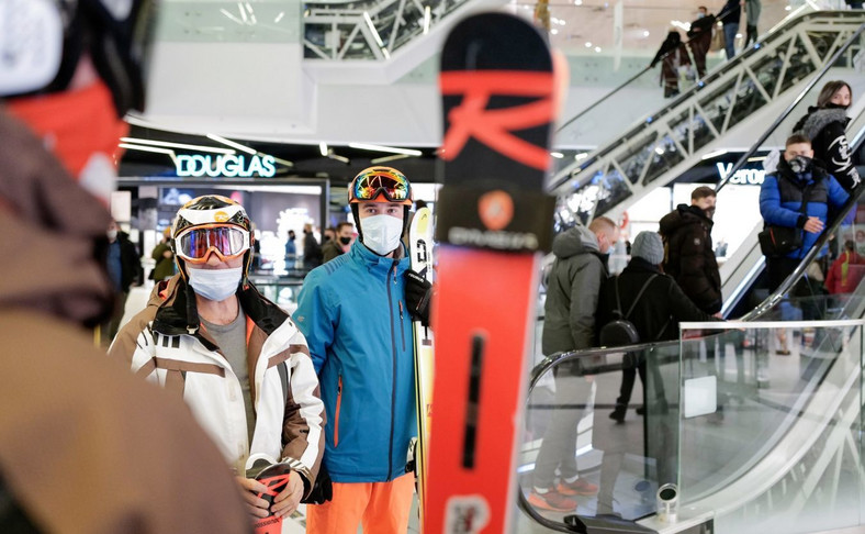 Protest narciarzy