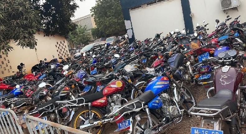 Motorbikes impounded