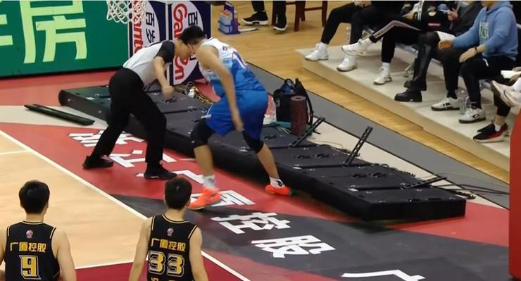 Povreda košarkaša