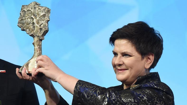 Beata Szydło z nagrodą klubów Gazety Polskiej