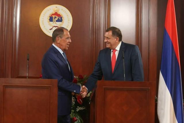 Milorad Dodik i Sergej Lavrov