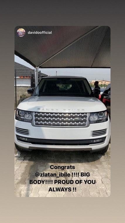 Zlatan Ibile has joined the gang of celebrities with Range Rover SUVs in their garages. [Instagram/ZlatanIbile]