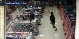 Zabił dwóch ludzi. Zrobił to trzymając synka w objęciach