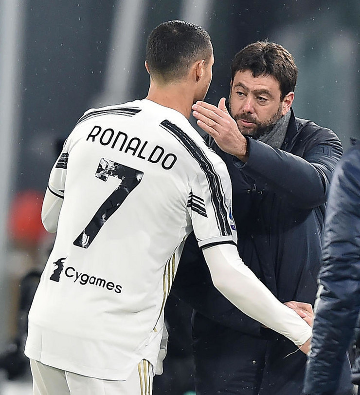 Andrea Anjeli i Kristijano Ronaldo