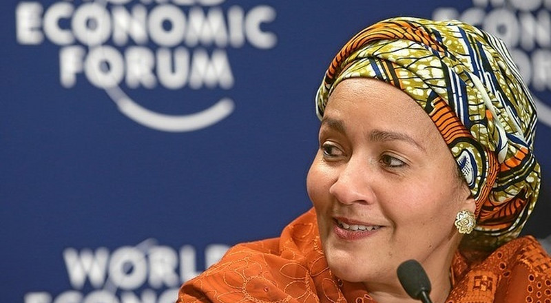 Amina Mohammed is our Woman Crush this Wednesday!