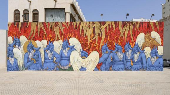 Šarjah fondacija organizuje bijenale umetnosti, filmske festivala, sponzoriše umetnike,..