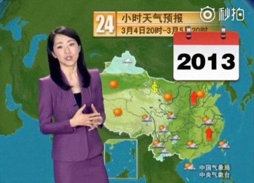 Yang Dan od 23 lat zapowiada pogodę. Jej twarz w ogóle się nie starzeje!