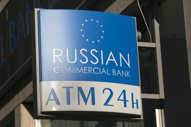 Rosyjski bank komercyjny na Cyprze.