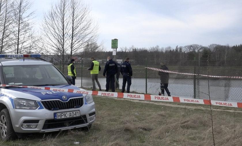 Ciało 17-latki znaleziono w stawie w Dąbrówkach