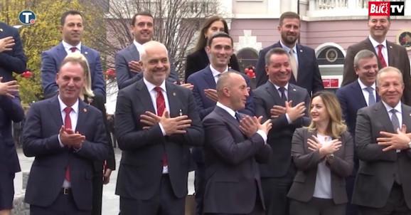 Članovi kosovske i albanske vlade