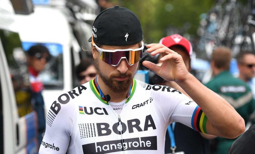 Peter Sagan otarł się o tragedię na wyścigu Tirreno-Adriatico