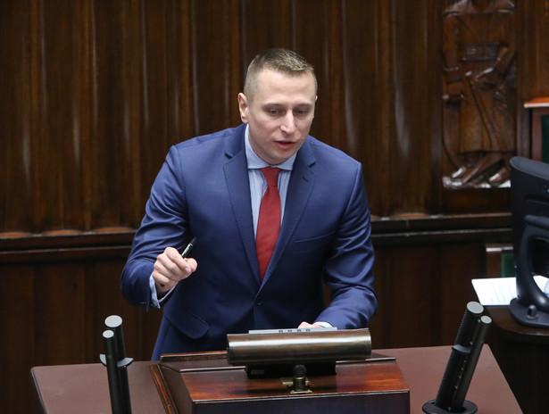 Krzysztof Brejza (PO) wnioskował o głosowanie imienne w sprawie projektu nowelizacji ustawy o TK