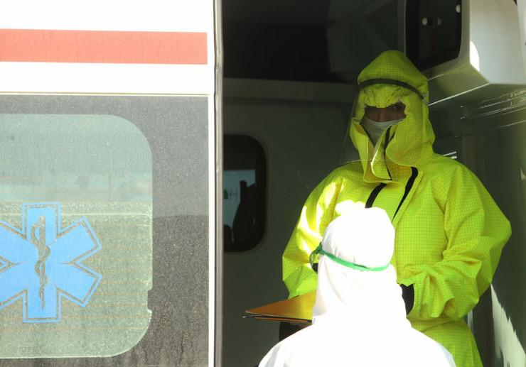 Korona virus - medicinski radnici - Klinika za infektivne bolesti UKC-RS-05