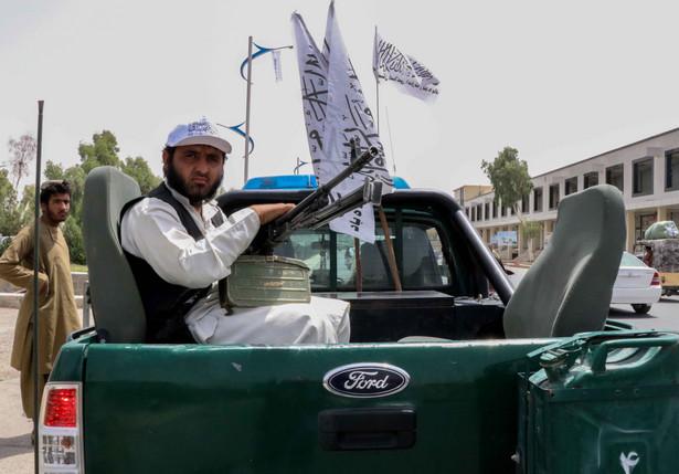 Afganistan. Talibski patrol w Kandaharze