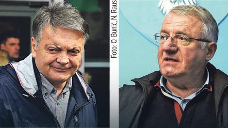 Milovan Bojić i Vojislav šešelj