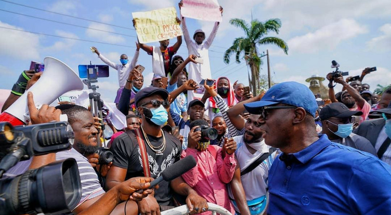 Sanwo-Olu begs #ENDSARS protesters to be calm, says their voices have been heard