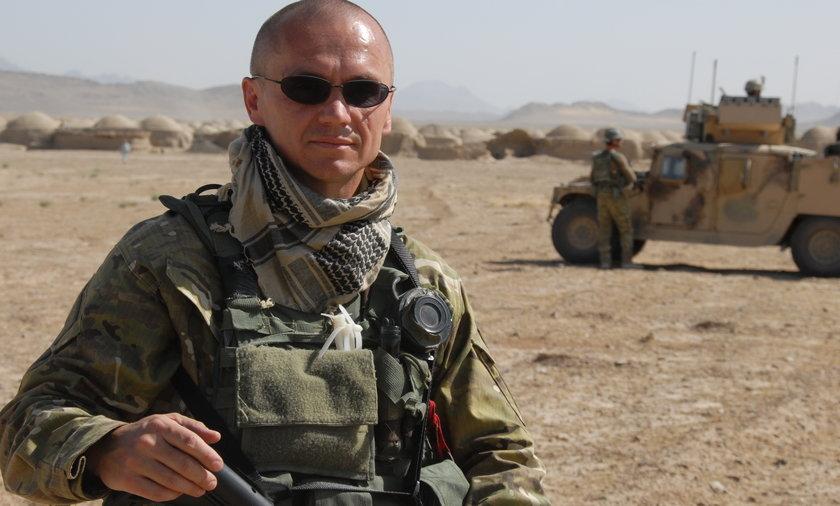 Gen. Roman Polko, były dowódca sił specjalnych GROM.