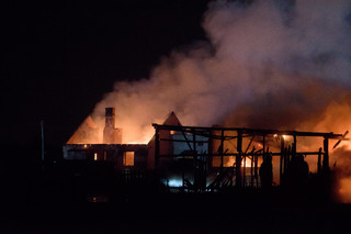 Dolnośląskie: Pożar domu jednorodzinnego w Pisarzowicach