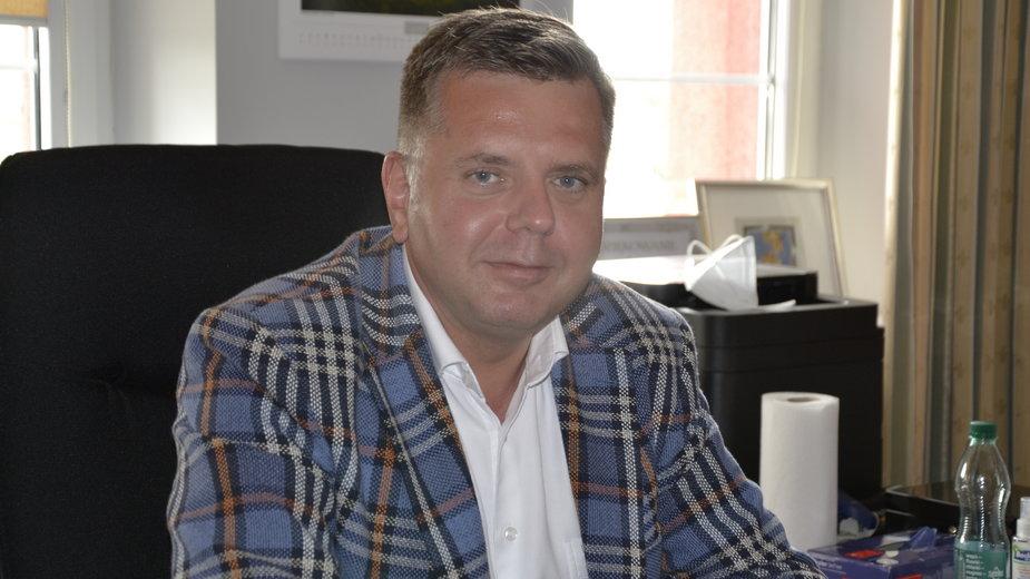 Jacek Socha, burmistrz Ozorkowa