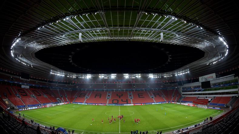 Stadion w Leverkusen