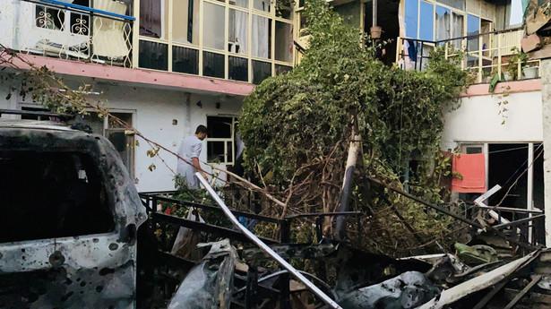 Eksplozja w Kabulu