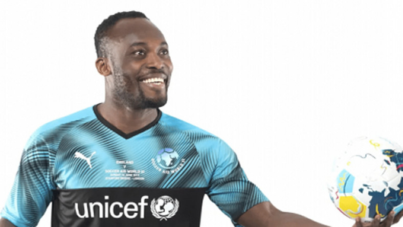 Essien to feature in World XI vs England match in June