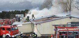 Były pracownik podpalił stolarnię!