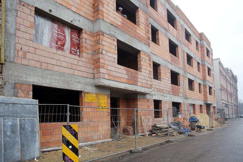 Na Kordeckiego w K-cach budowa idzie pełną parą