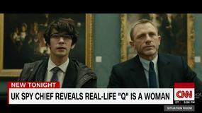 Q z filmów o Jamesie Bondzie w rzeczywistości jest kobietą